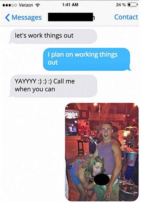 drunk guy responds  cheating  gf funny gallery