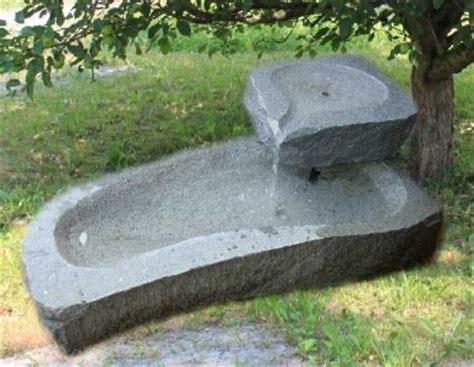 Stein Brunnen Für Den Garten Vorarlberg
