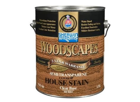 Sherwin Williams Woodscapes Semi Transparent Stain