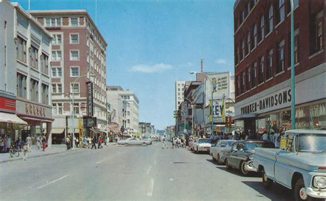 sioux city iowa fourth street business district downto