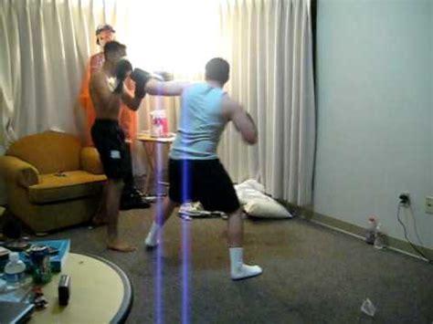 Dorm Room Amateur Boxing! Youtube