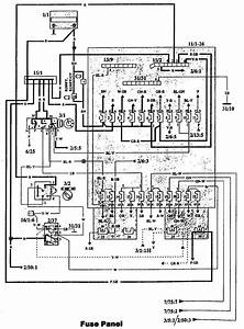 Volvo 940  1993  - Fuse Box Diagram