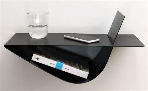 table de nuit suspendue tables de chevet suspendues noires chevets suspendus