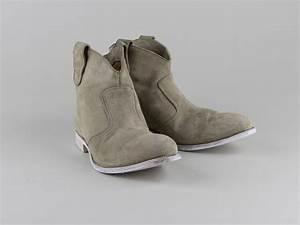 Chaussures Atelier Voisin / BAIA / Boots Beige Velours
