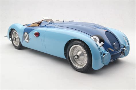 Bugatti Type 57g 1937 Tank 1st Le Mans Scale Model Cars