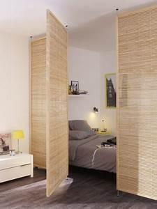 Separateur De Piece Bois : une cloison d co pour s parer sans assombrir ~ Farleysfitness.com Idées de Décoration