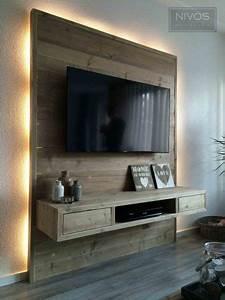 Wand Hinter Fernseher Gestalten Fernseher An Wand Montieren Die