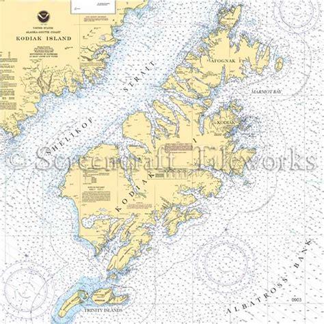 kitchen islands for sale alaska kodiak island nautical chart decor