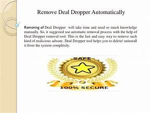 Remove Deal Dropper  U2013 Step By Step Removal Guide