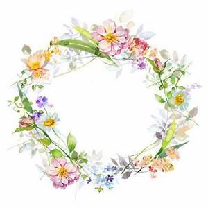 Harrison Ripley SQUARE PEACH PINK FLORAL Wreath Copy 2