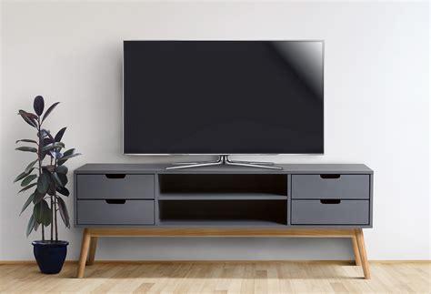 Un Meuble Tv En Bois Pour Créer Un Coin Télé Chaleureux