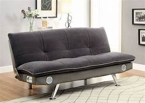 gallo sofa bed with bluetooth speakers futons With sofa bed with speakers