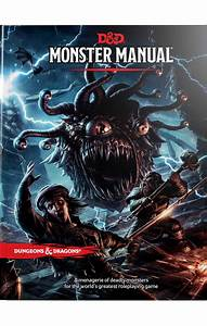 Monster Manual  A Dungeons  U0026 Dragons Core Rulebook