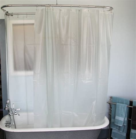bathroom captivating clawfoot tub shower curtain for