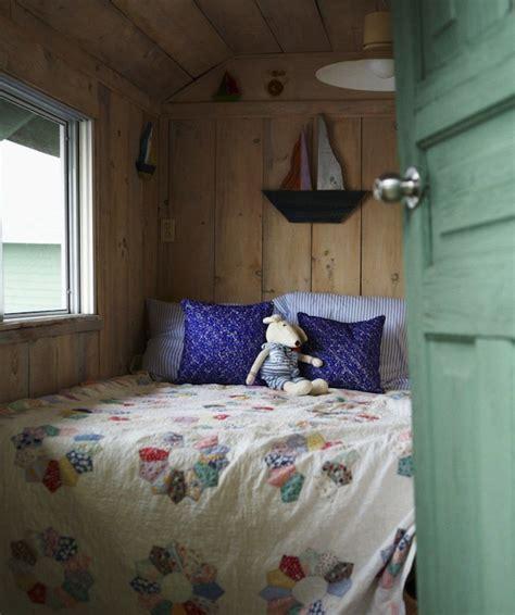 Rustic Plank Walls  Cottage  Bedroom  Anne Hepfer Designs