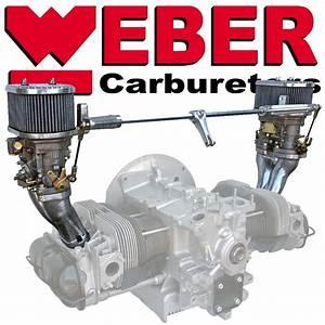 6413 Dual Weber 44 Idf Kit