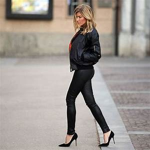 Style Tips On How To Wear A Bomber Jacket - Bomber Jacket Outfits - Just The Design