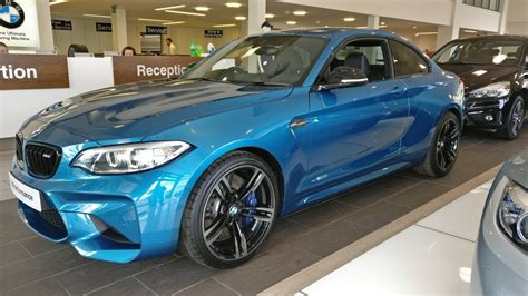 Bmw M2 Coupe In Long Beach Blue At Cooper Bmw York Youtube