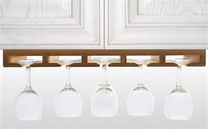 hanging diy wine glass rack holder under white kitchen With kitchen colors with white cabinets with candle holders for wine bottles