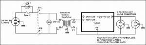 Adjustable Auto Transformer Circuit Diagram World