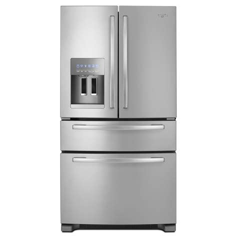 Whirlpool French Door Refrigerator 25 Cu Ft Gz25fsrxyy