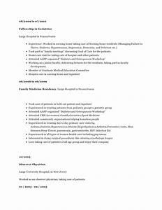 Resume CV Candidate 2894 Experienced Board Certified ...