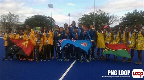 Png Women Settles For Silver In Hockey