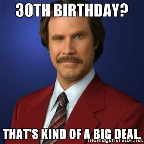 Happy 30th Birthday Meme - 20 awesome 30th birthday memes sayingimages com