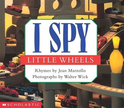 I Spy Little Wheels By Jean Marzollo, Walter Wick , Board