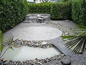 Wasserlauf Garten Modern : steingarten im winter raum und m beldesign inspiration ~ Markanthonyermac.com Haus und Dekorationen