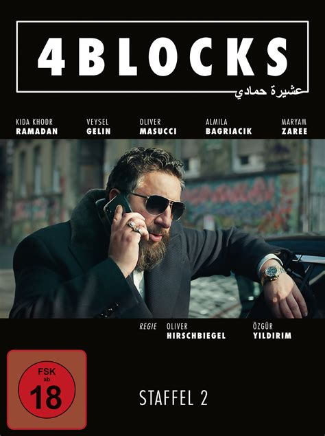neu auf blue ray dvd  blocks staffel