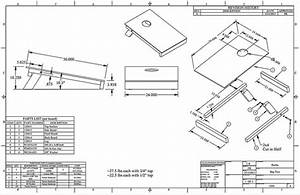 nesting travel boards with building specs o cornhole With corn hole diagram