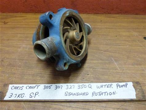 chris craft     water pump   chris