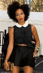 Solange Knowles shows off her endless legs in some very ...