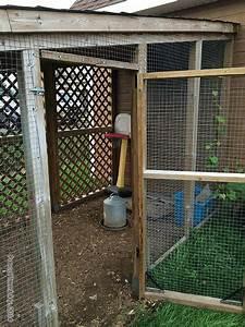 Fabrication D Une Voliere Exterieur : construction poulailler poulailler en bois pour basse cour ~ Premium-room.com Idées de Décoration