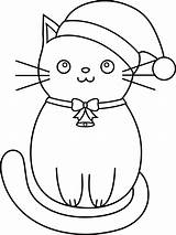Coloring Cat Pages Christmas Rocks Cats Cute Detailed sketch template