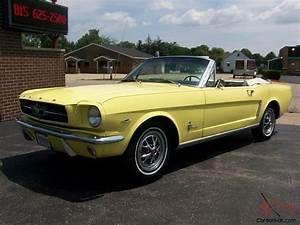 64 1/2 MUSTANG CONVERTIBLE 225hp 289ci V8 4 SPEED 96854 ORIGINAL MILES RESTORED
