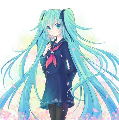 Hatsune Miku Vocaloid Image 977968 Zerochan Anime