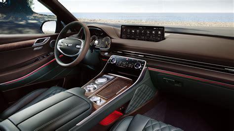 wallpaper genesis gv  cars interior suv luxury
