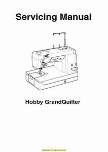 Pfaff 1200 Hobby Grandquilter Sewing Machine Service
