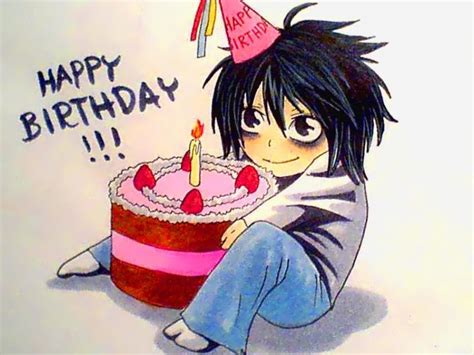 Anime Happy Birthday Wallpaper - happy birthday anime 2 768 215 576 the mad