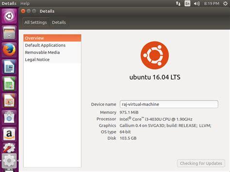 install ubuntu 16 04 with screenshots