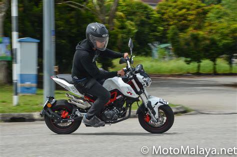 Gambar Motor Benelli Tnt 135 by Motomalaya Pandu Uji 2017 Benelli Tnt 135 Motor Mini