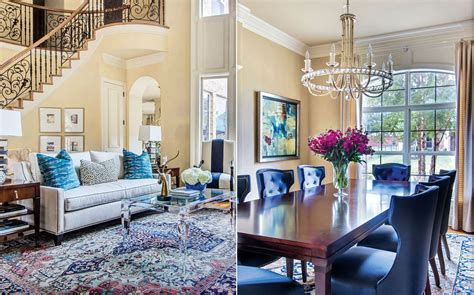 Blue-based Redesign Blends Traditional And Fresh Décor