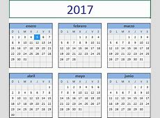 Calendarios espectaculares 2017 para imprimir Hoy imágenes