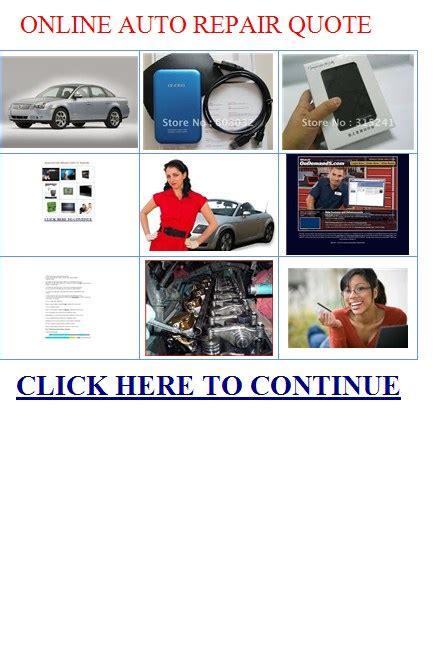 Online Car Repair Quotes