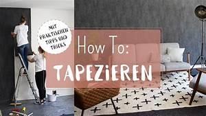 Tapezieren Für Anfänger : tapezieren f r anf nger vliestapeten richtig anbringen youtube ~ Orissabook.com Haus und Dekorationen
