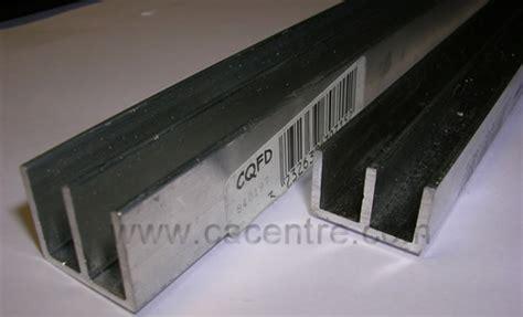 profile aluminium pour vitrine portes coulissantes
