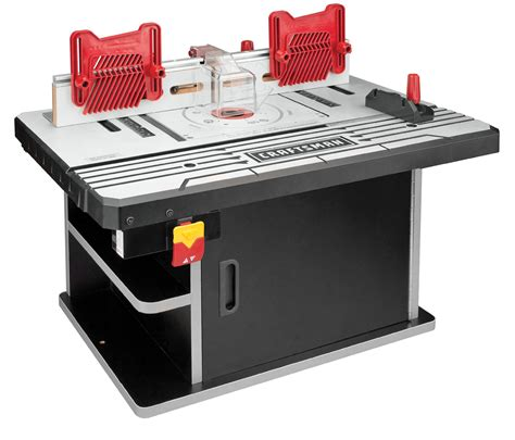 router table and router premium die cast aluminum router table shop your way