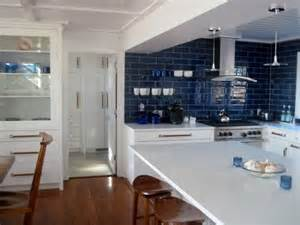 blue kitchen backsplash pops of blue in every room ideas inspiration